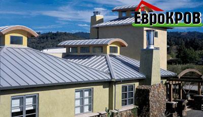 Крыша из алюминия, алюминий для крыши