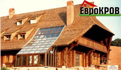 Дранка деревянная, гонт, крыша из дерева